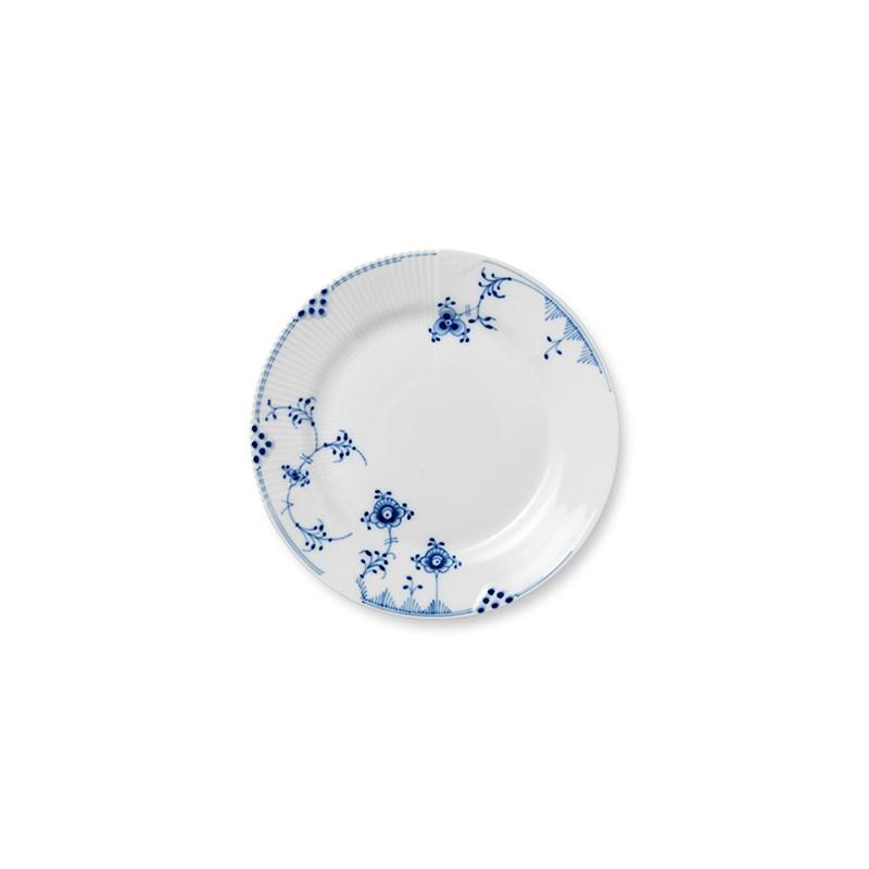 Royal Copenhagen Blå Elements frokosttallerken, Ø22 cm