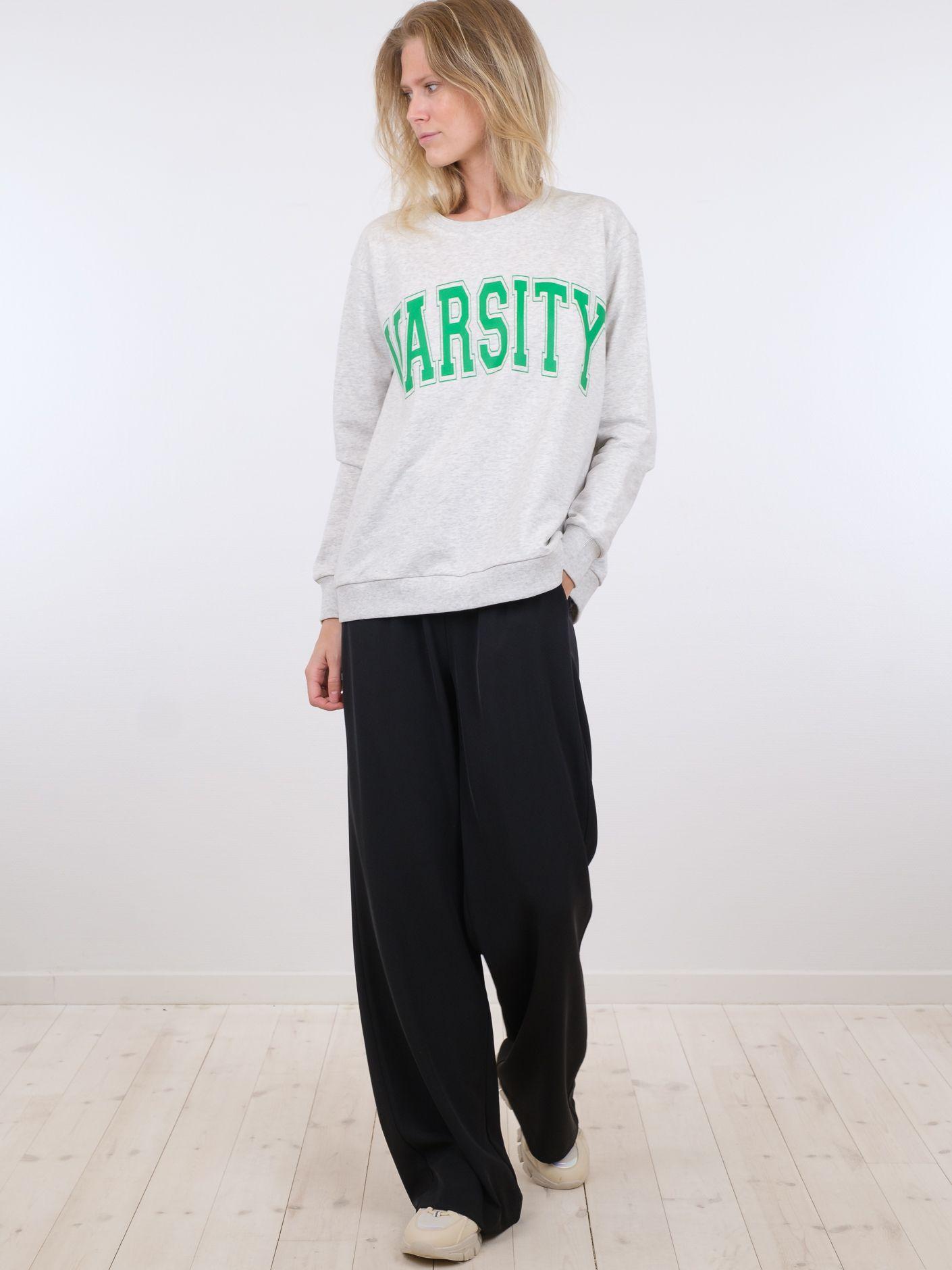 Neo Noir Flex Varsity sweatshirt, light grey melange, 40