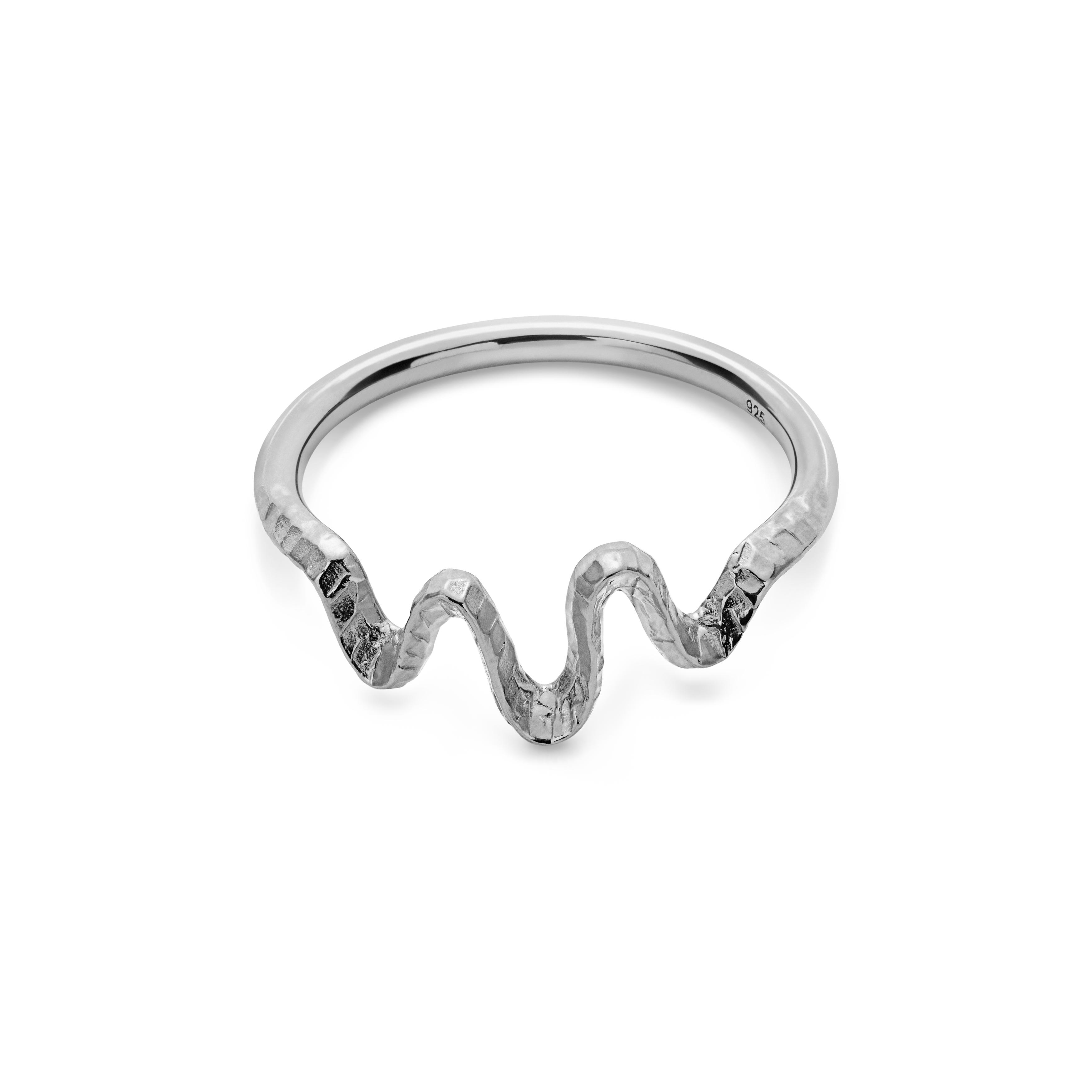 Maanesten Sonar ring, sølv, 51
