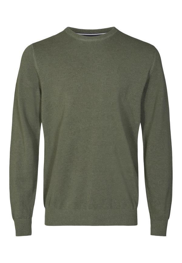Signal Norson Crew trøje, forest melange, xxx-large