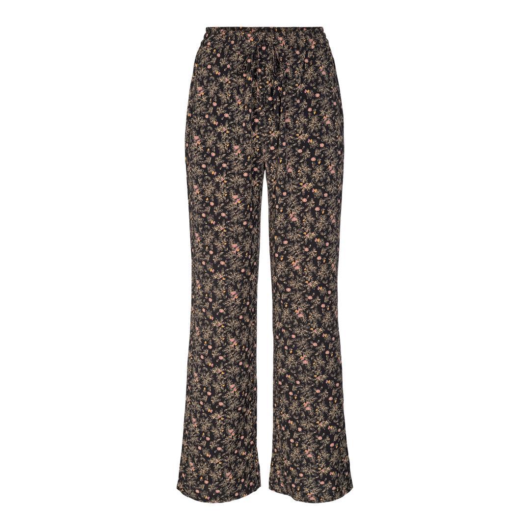 Co'Couture Ming Flower bukser, black, large