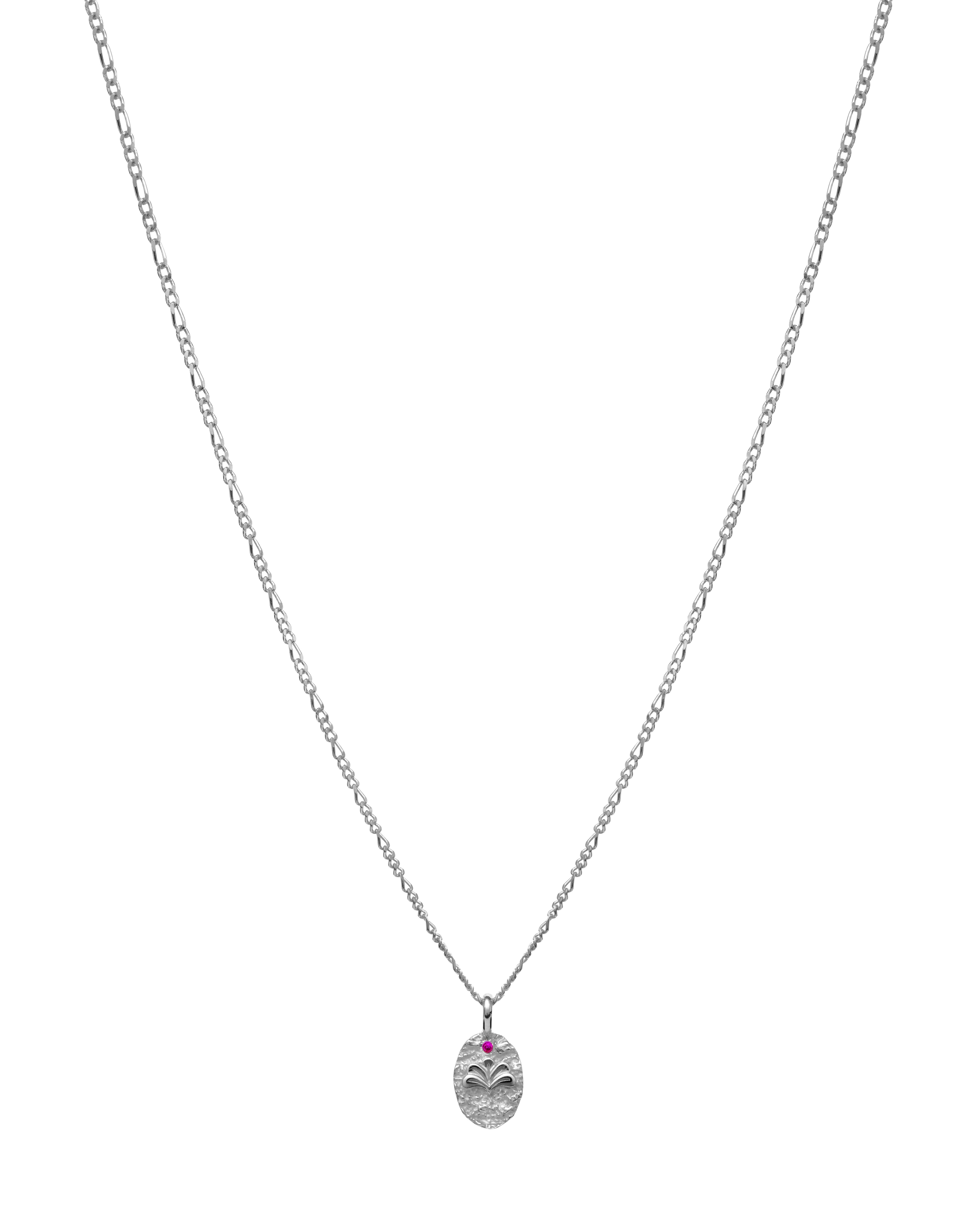 Maanesten Strom halskæde, sølv