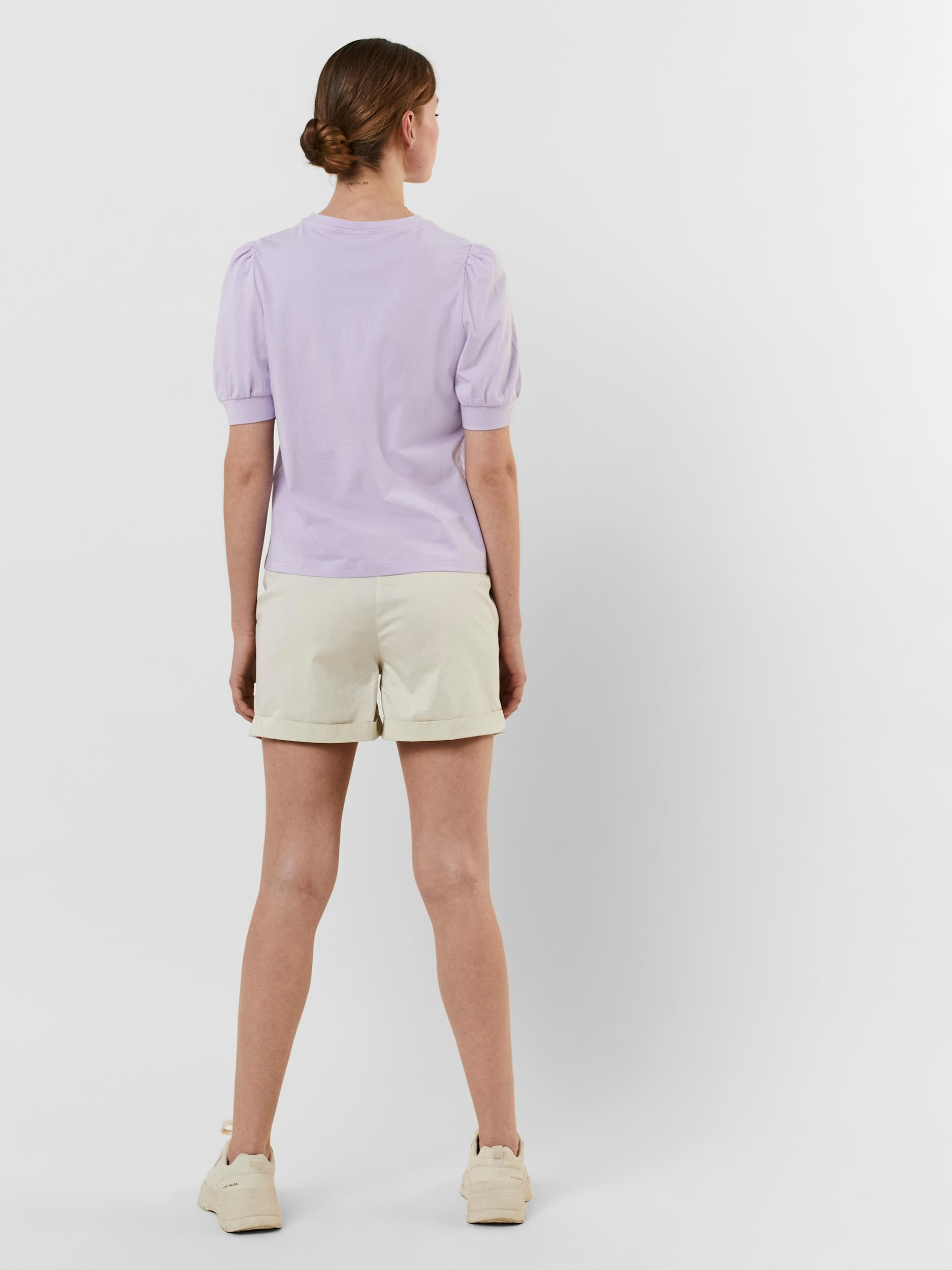 Vero Moda Kerry t-shirt, pastel lilac, small