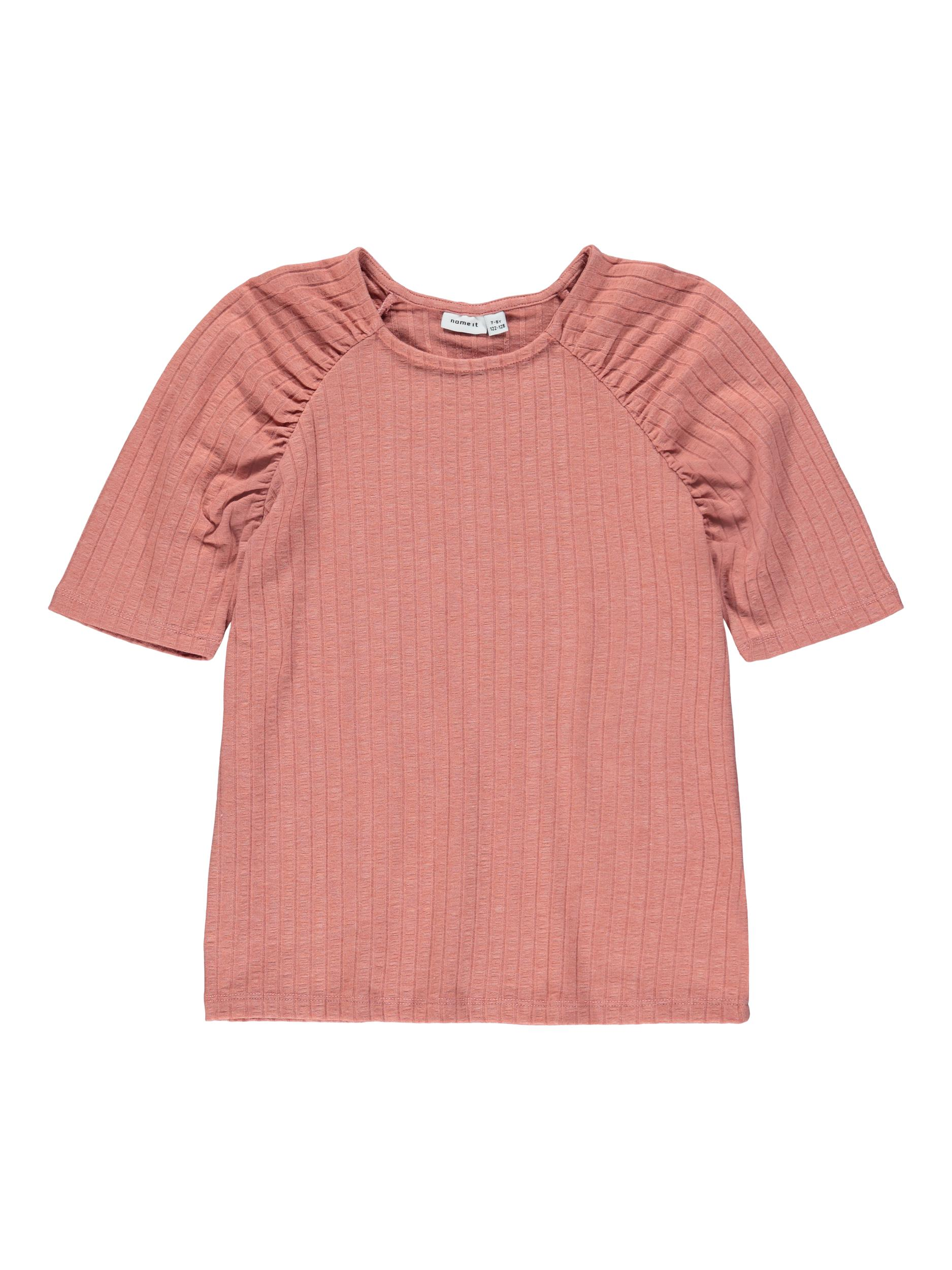 Name It Nolaa SS t-shirt, desert sand, 122-128