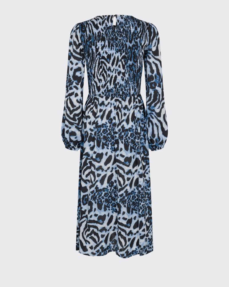 Moves Ivala Maxi kjole, azur blue, 34