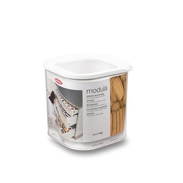 Mepal Modula kvadratisk husholdningsboks, 2,75 liter