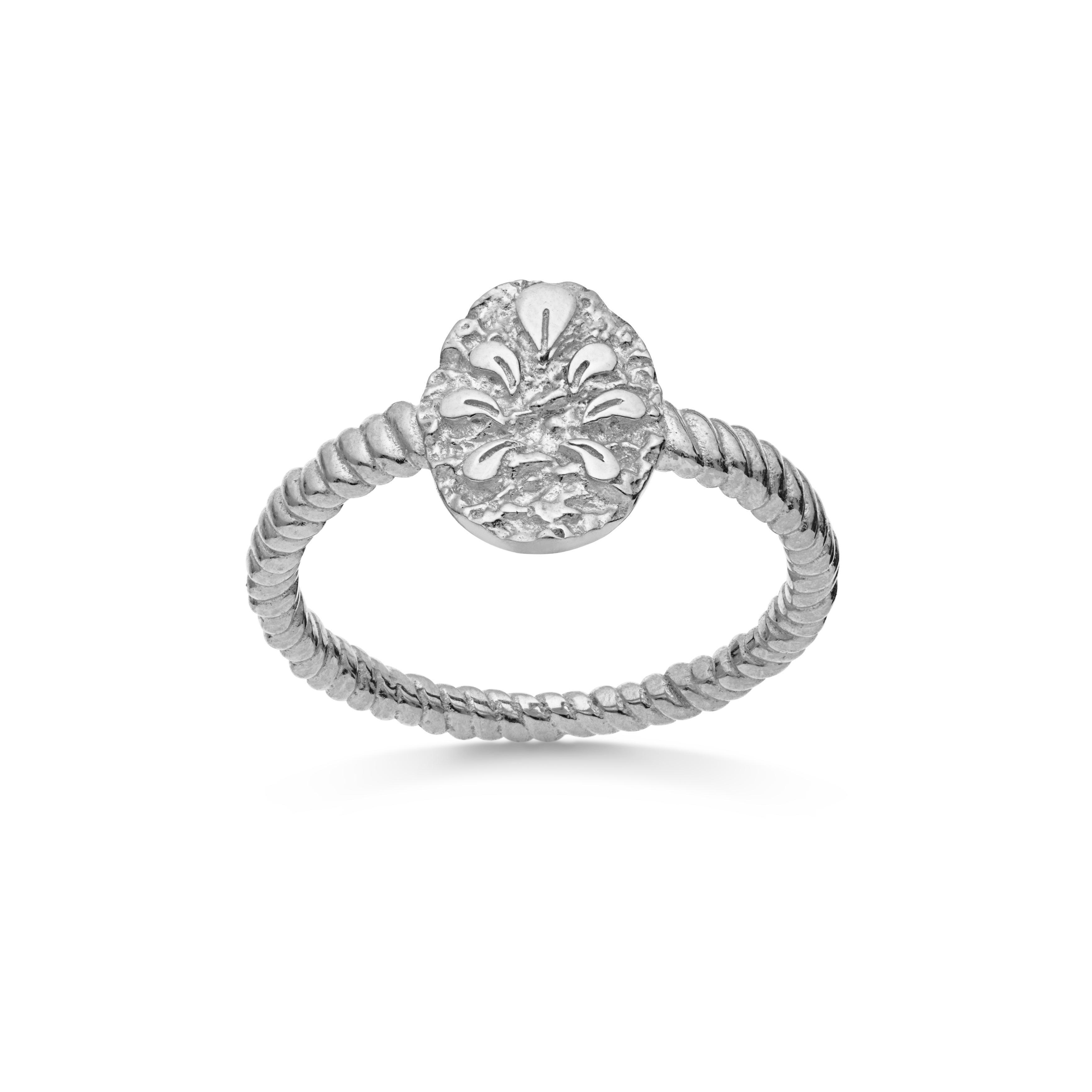 Maanesten Aspen ring, sølv, 55