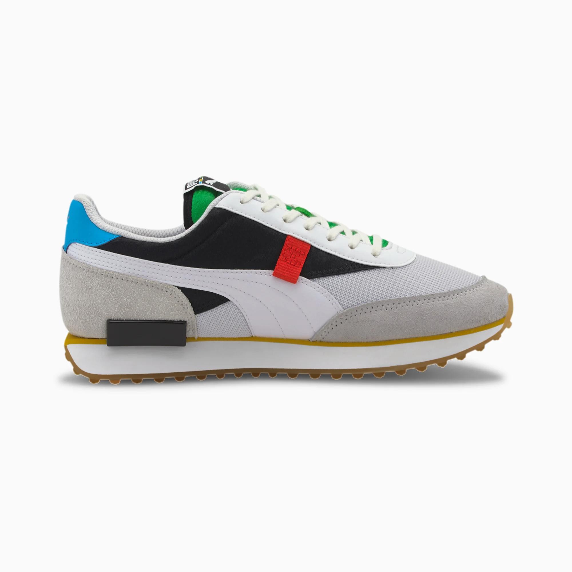 Puma Future Rider sneakers, white, 43