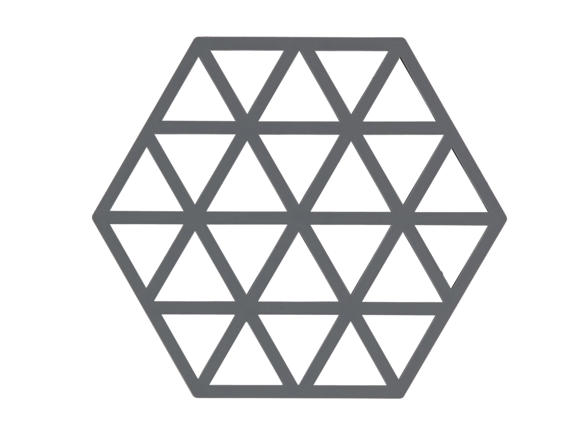 Zone Triangles bordskåner, cool grey