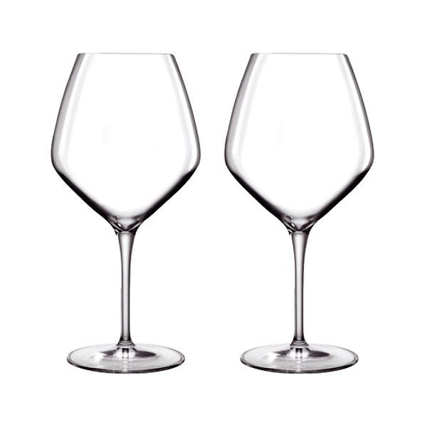 Luigi Bormioli Atelier Barolo og Shiraz rødvinsglas, 2 stk