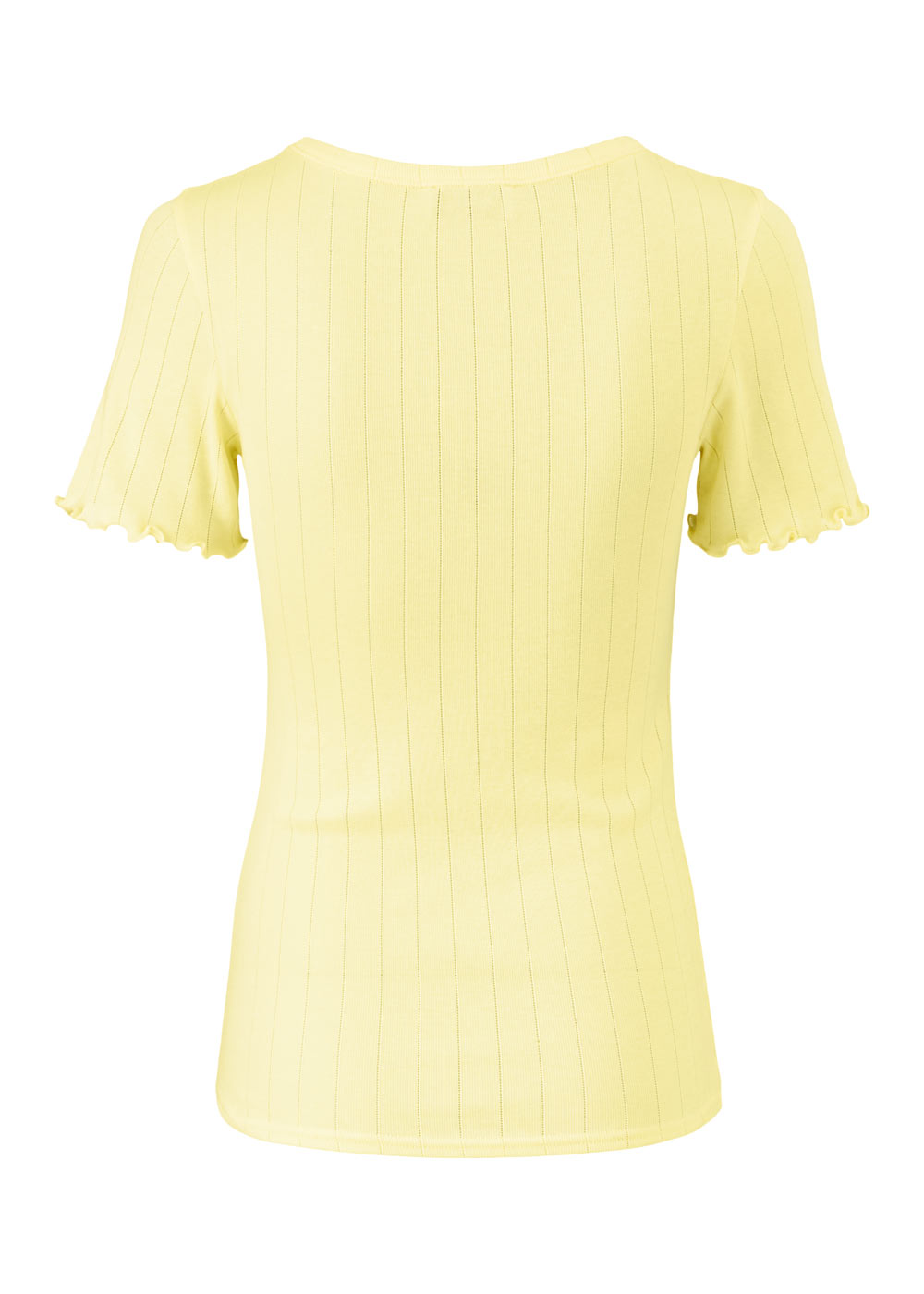 Modström Issy t-shirt, lemon haze, medium