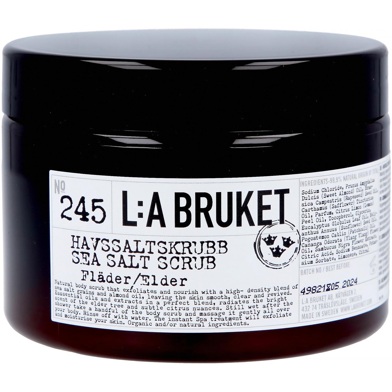 L:a Bruket No. 245 havsaltscrub, 420 g, hyldeblomst