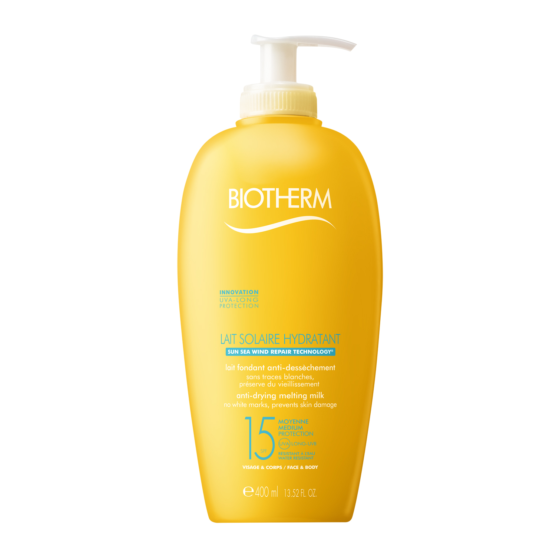 Biotherm Lait Solaire Hydratant SPF15, 400 ml