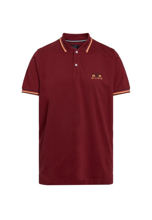 Signal Gaston CP Polo t-shirt, red club, xx-large