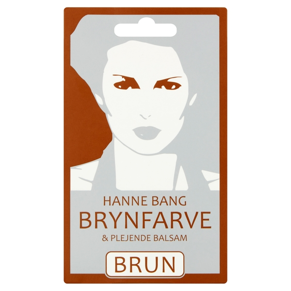 Hanne Bang Brynfarve, sortbrun
