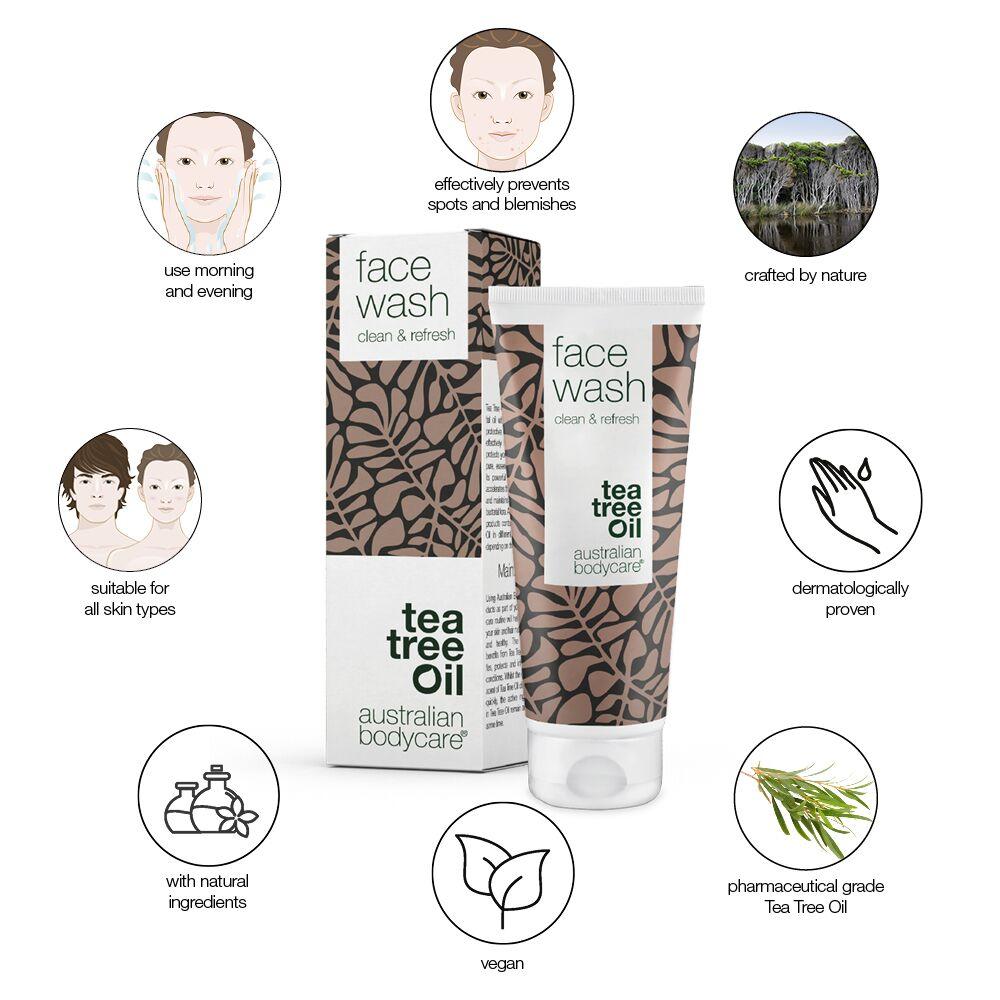 Australian Bodycare Face Wash, 100 ml