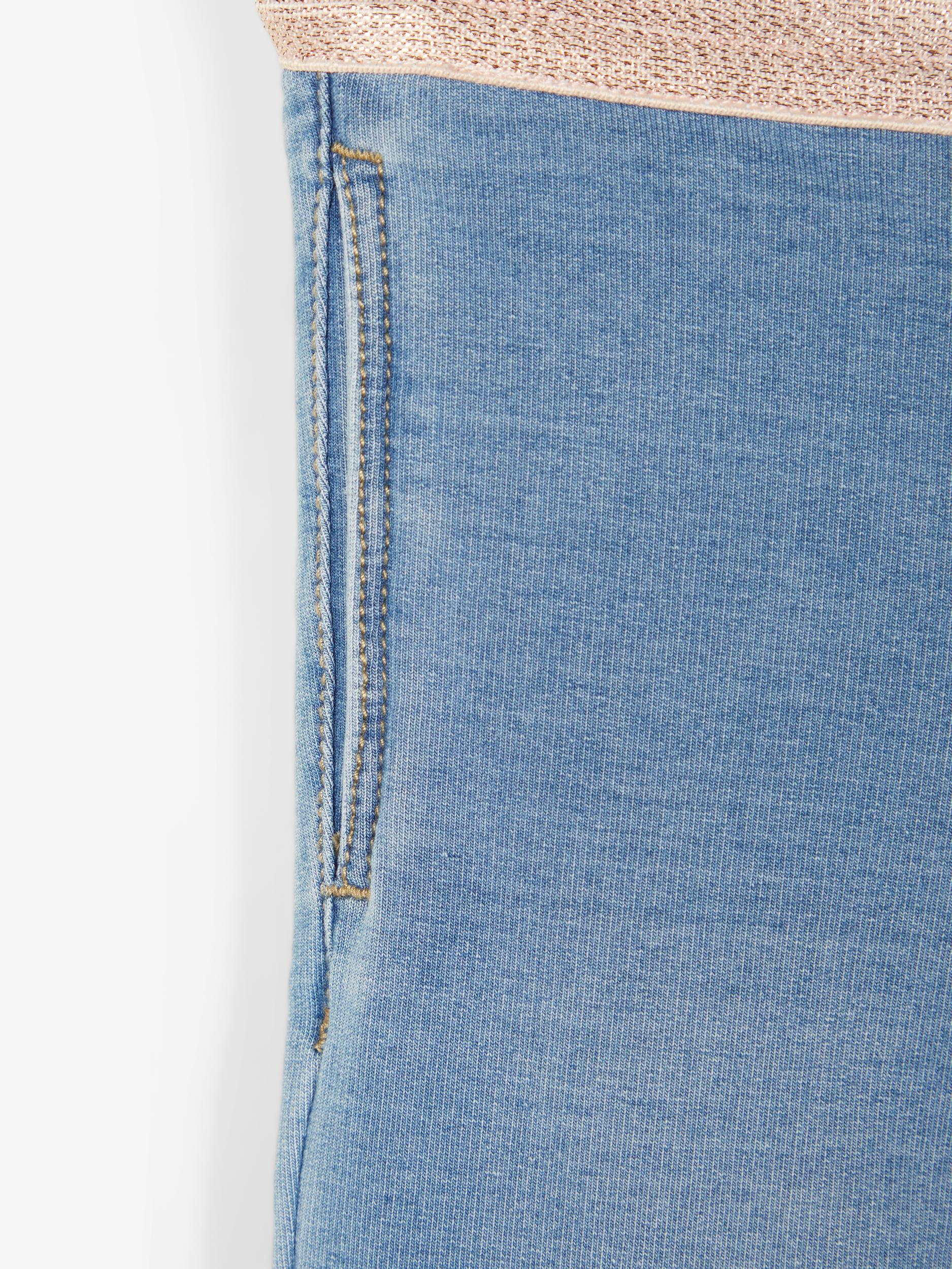 Name It Salli Sweat leggings, medium blue denim, 80
