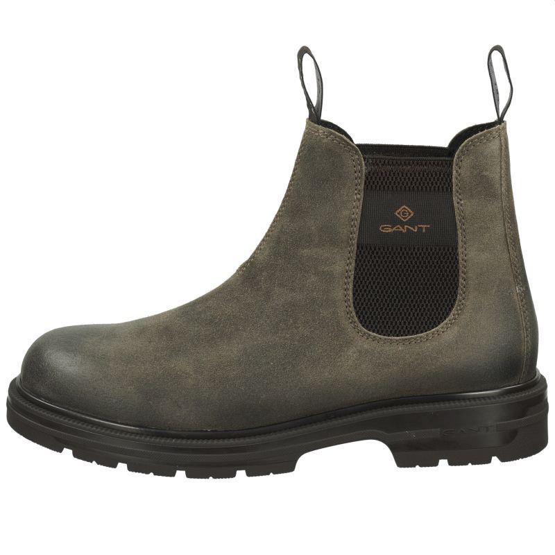 Gant Læderstøvler, Brun, 46