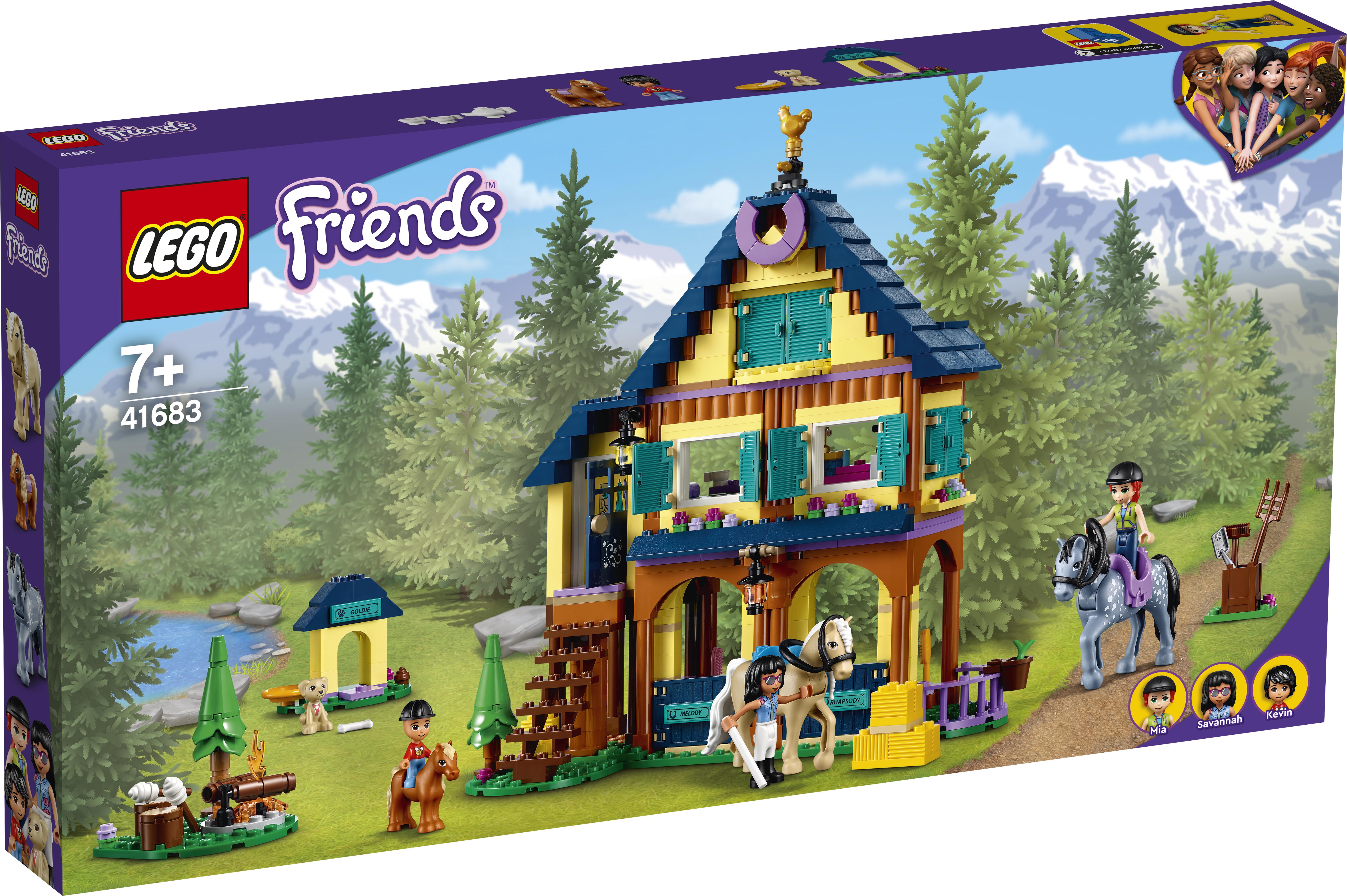 LEGO Friends Skov-ridecenter - 41683
