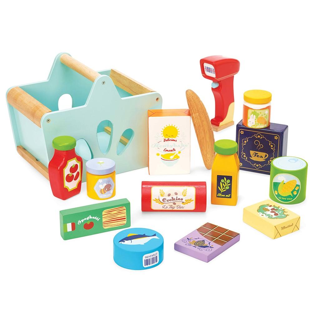 Le Toy Van Honeybake, indkøbskurv & scanner