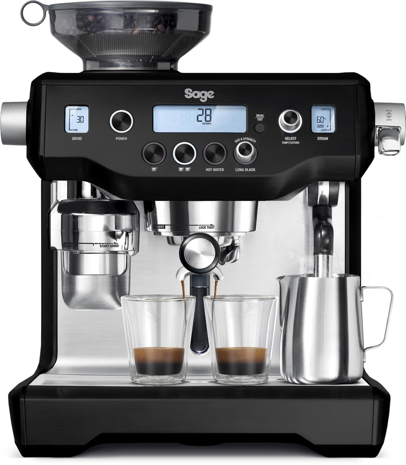 Sage The Oracle espressomaskine, black truffle