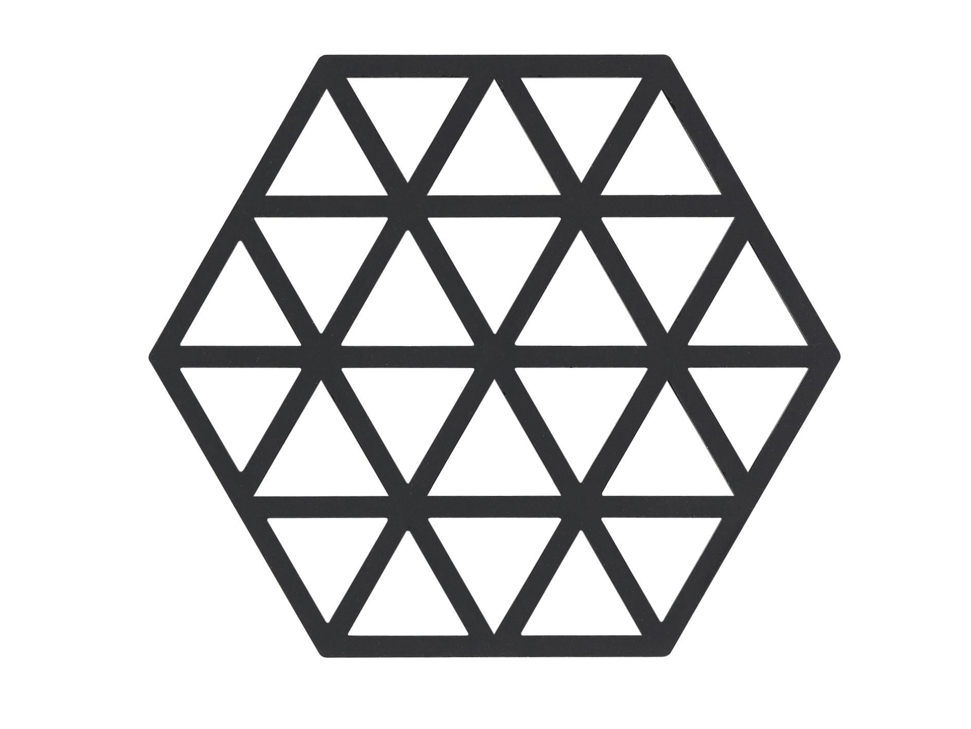 Zone Triangles bordskåner, black