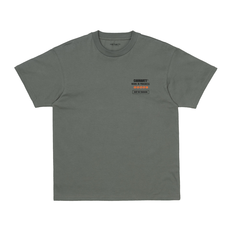 Carhartt Goods SS t-shirt, thyme, small