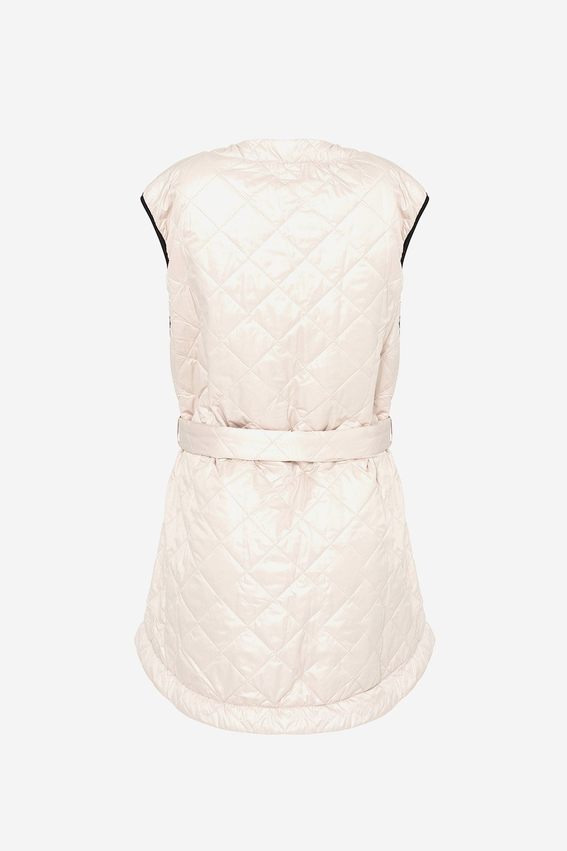 Noella Sava Quilt jakke, sand/black, medium/large