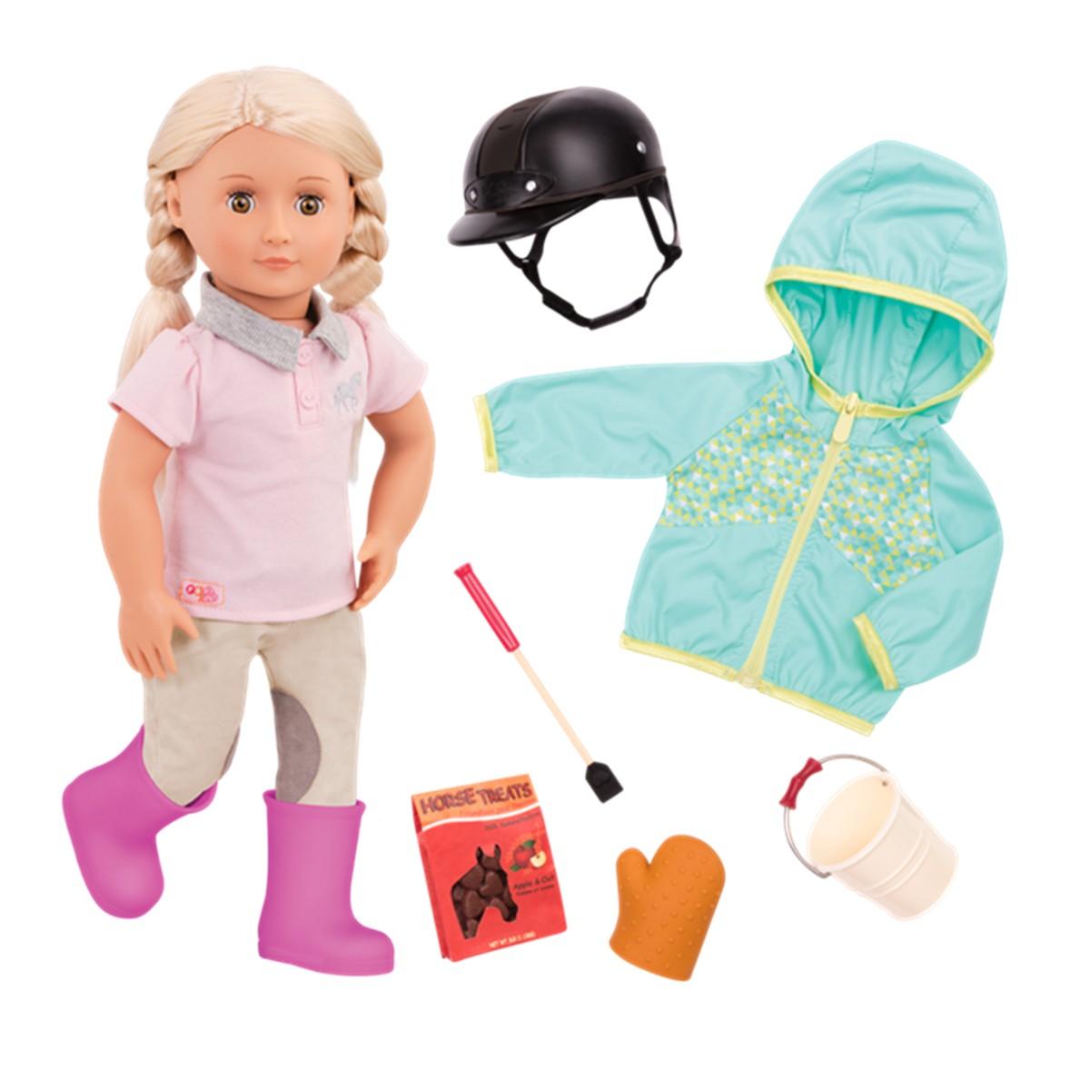 Our Generation dukke, Tamera m. ridetøj