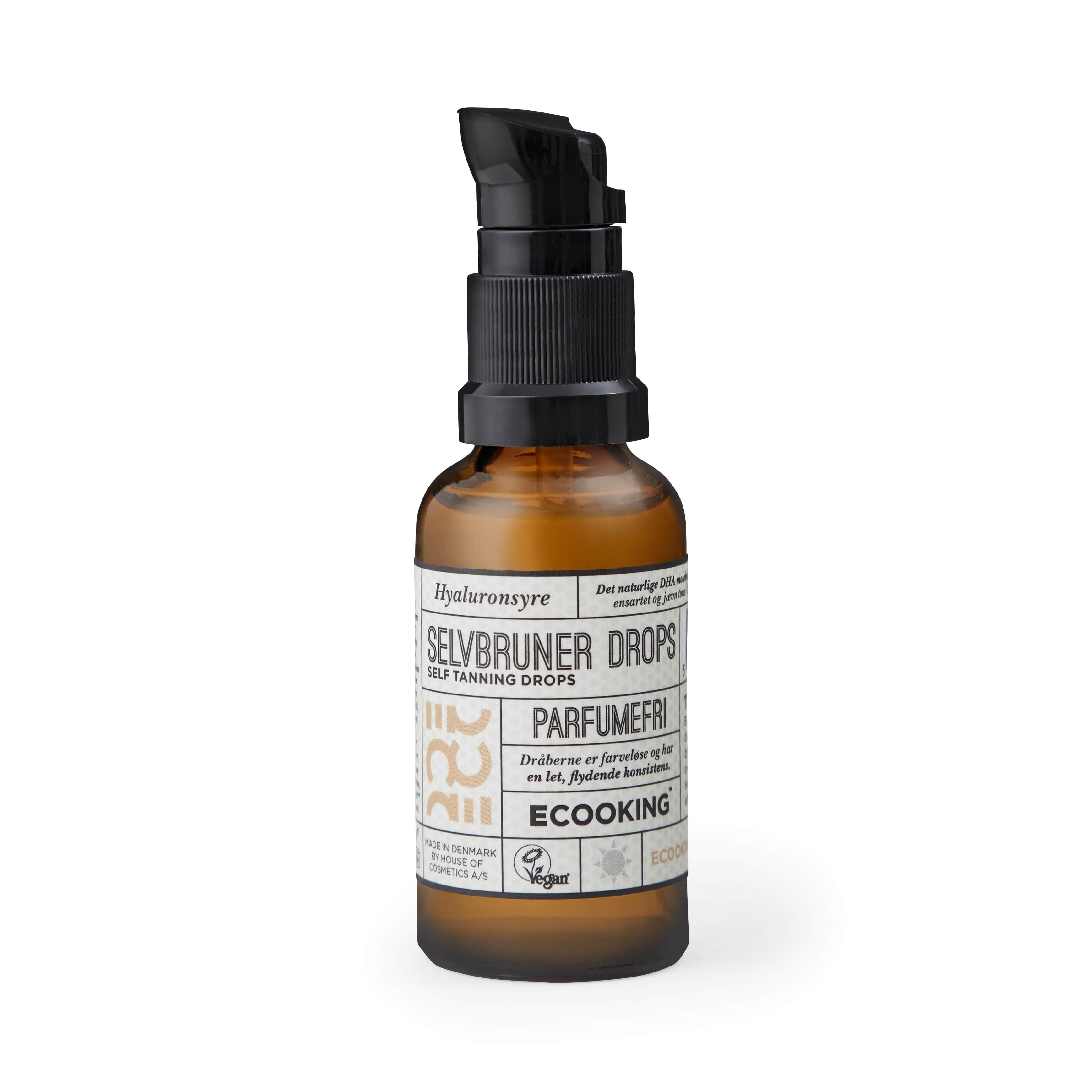 Ecooking Parfumefri Selvbruner Drops, 30 ml