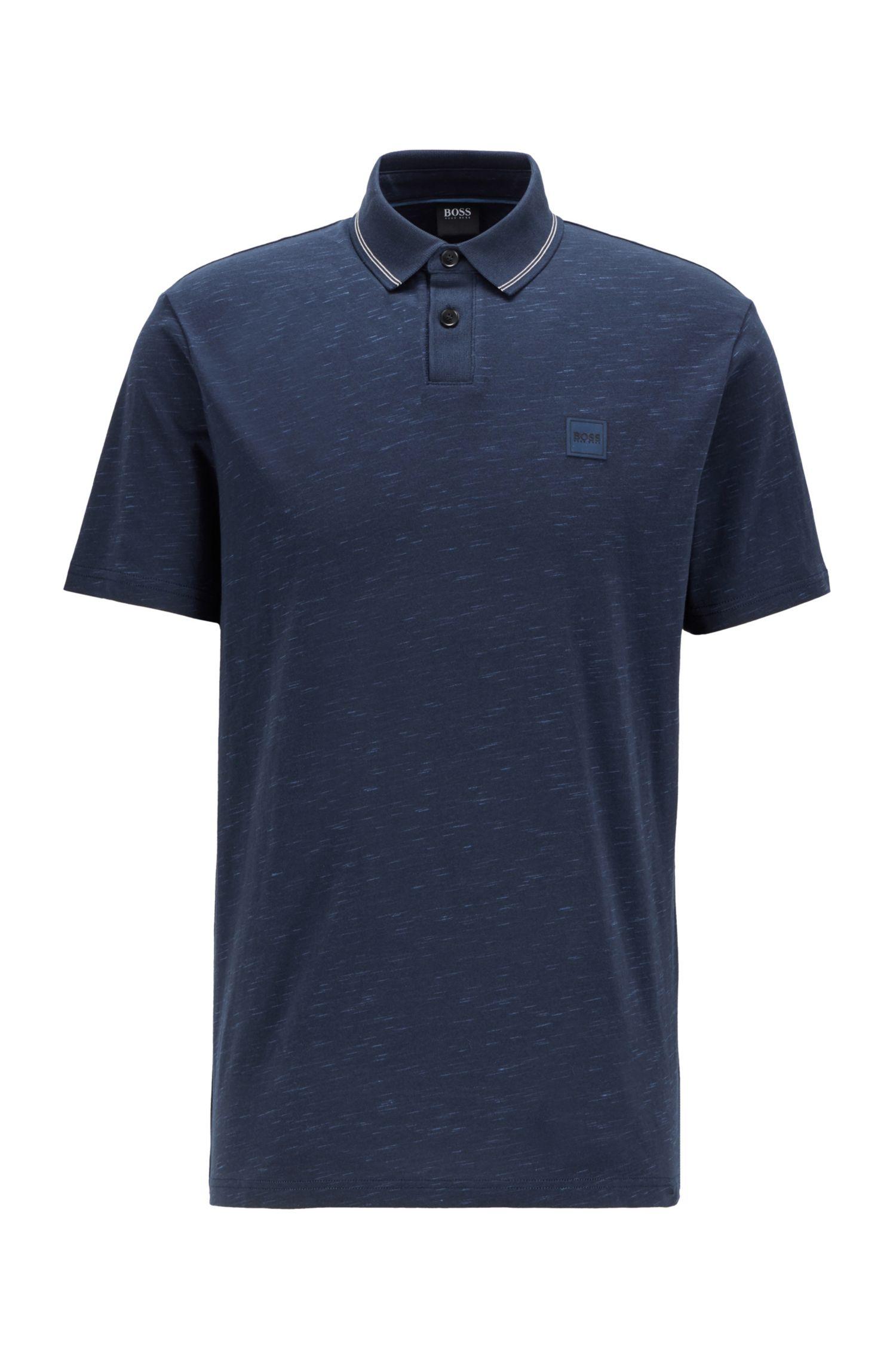 Hugo Boss Slub-Print polo shirt