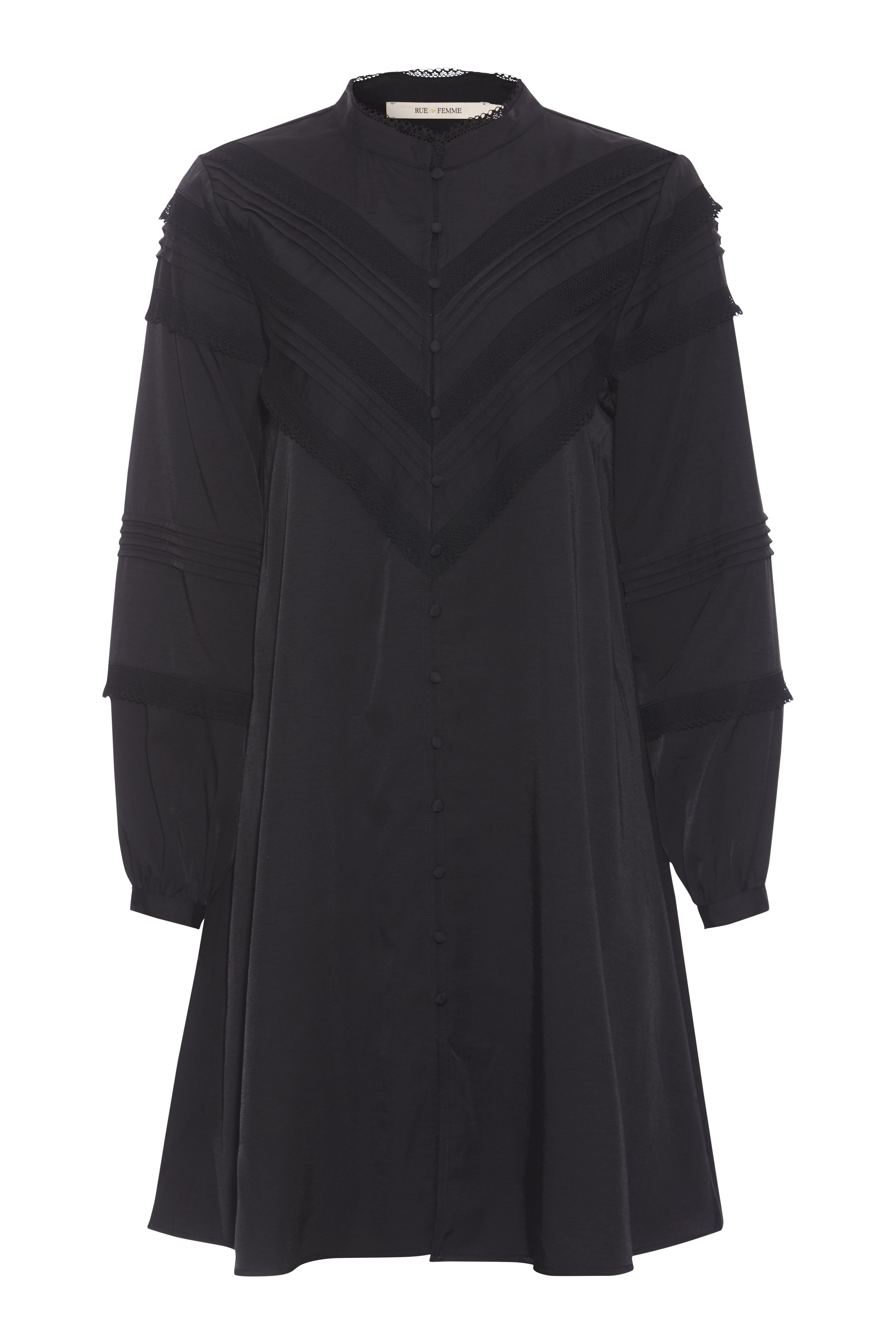 Rue de Femme Jewel kjole, black, large