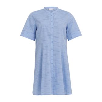 Coster Copenhagen lang skjorte, powder blue melange, 36