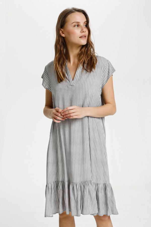 Saint Tropez HevaSZ kjole, blue deep braid stripe, medium