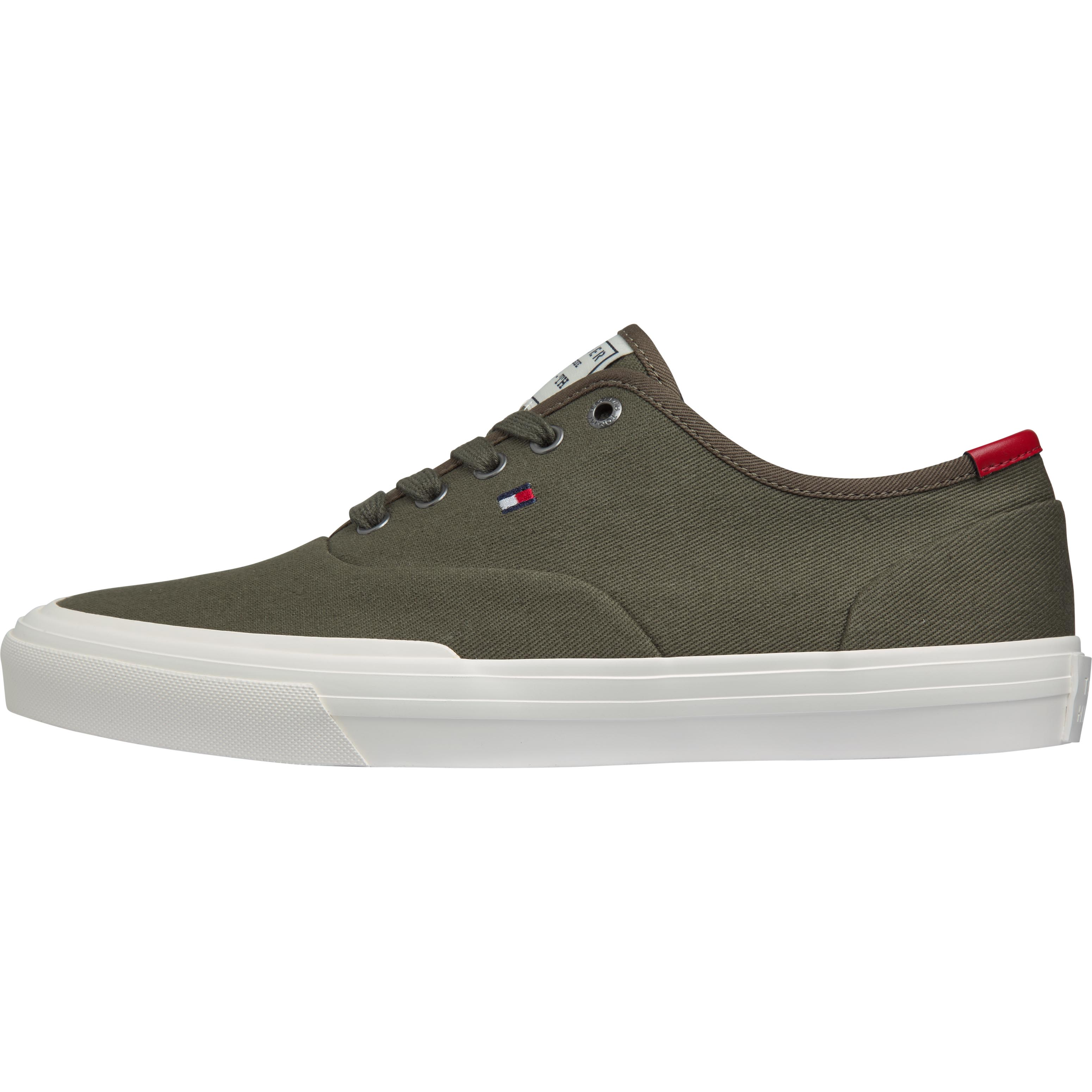 Tommy Hilfiger Core Oxford Twill sneakers, army green, 45