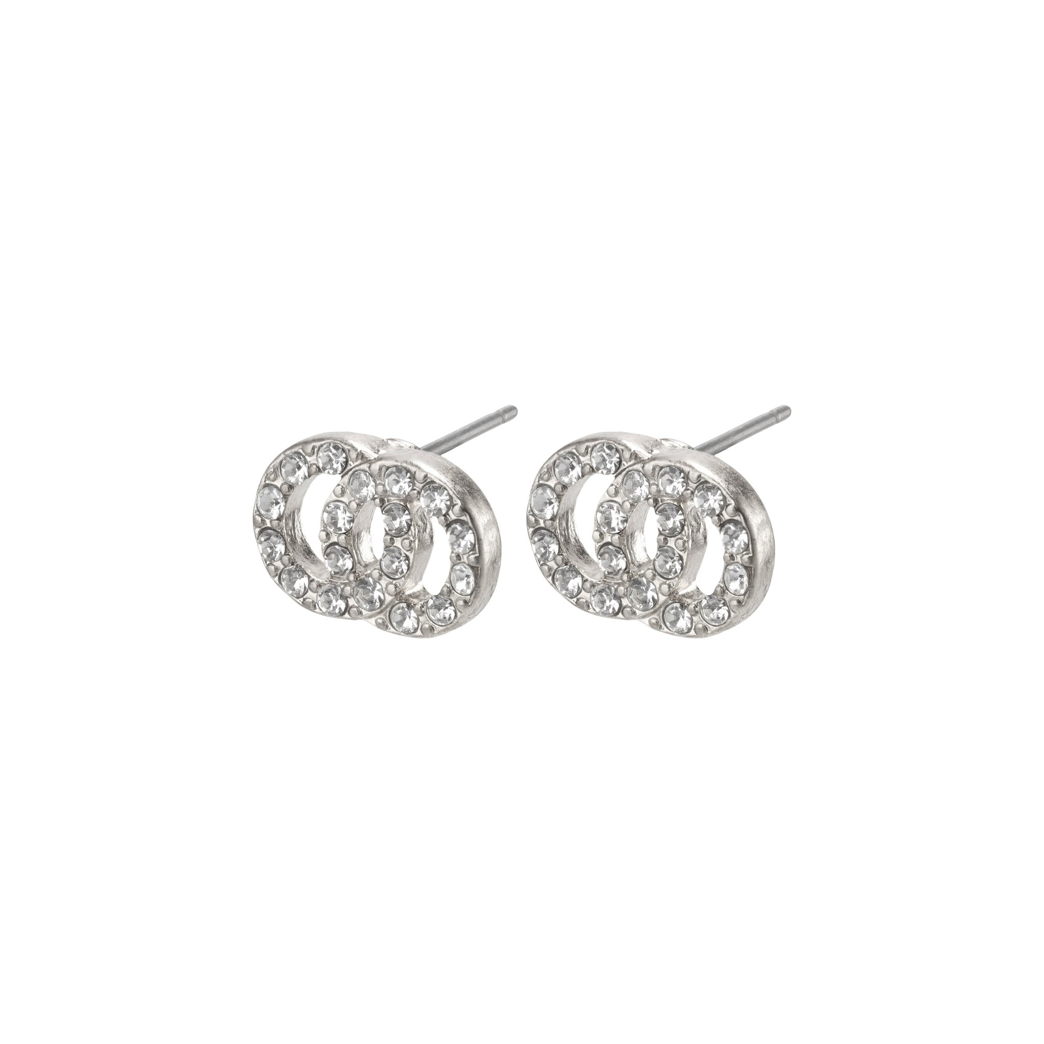Pilgrim Victoria øreringe, sølv