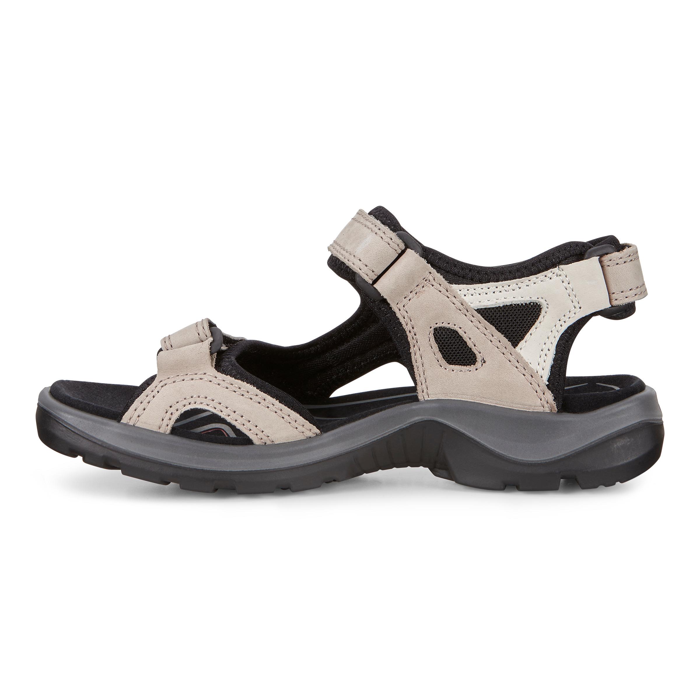 Ecco Offroad sandal, ice black, 36