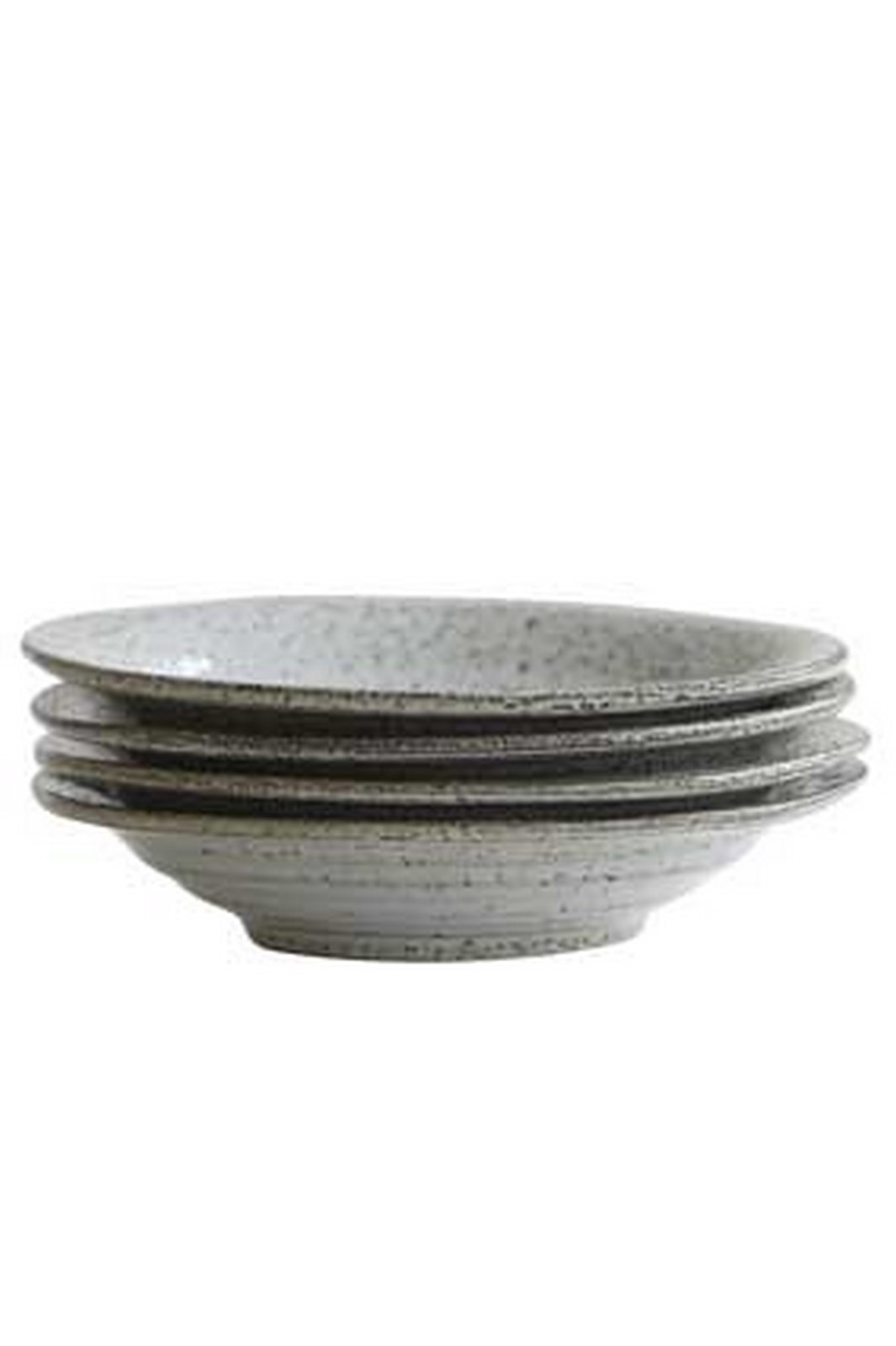 House Doctor Rustic suppetallerken, 25 cm, gråblå
