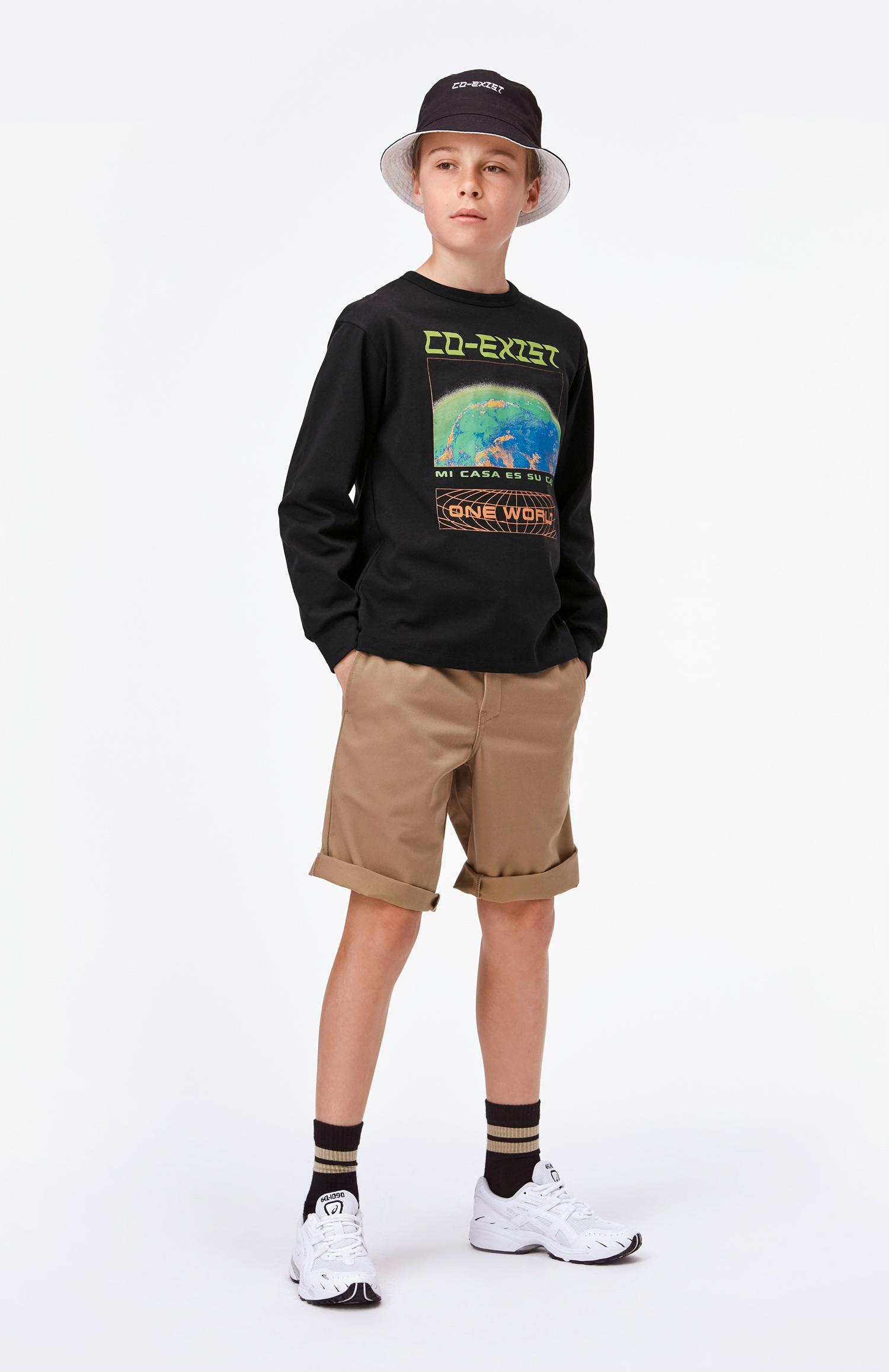 Molo Alan shorts, gravel, 116