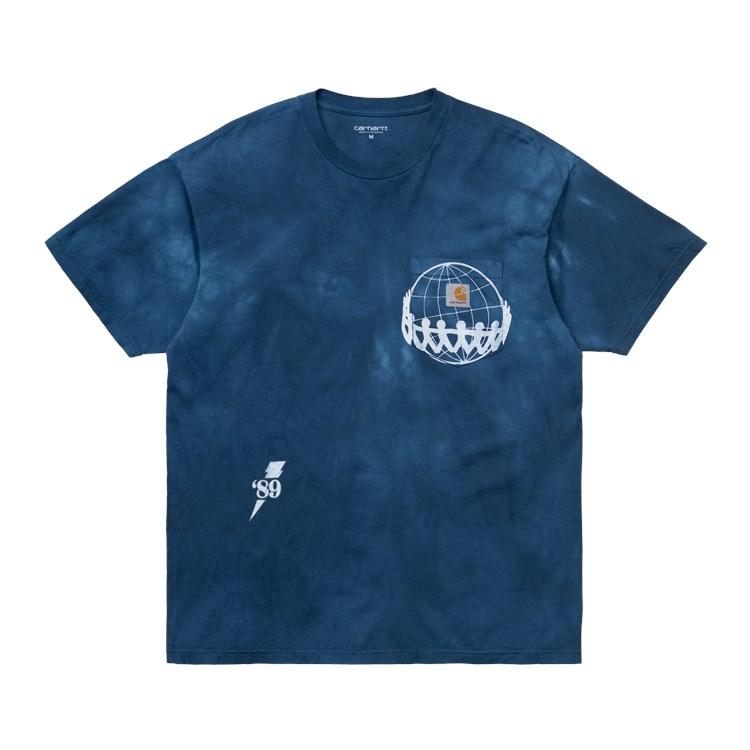 Carhartt S/S Joints Pocket t-shirt, chromo/white, large