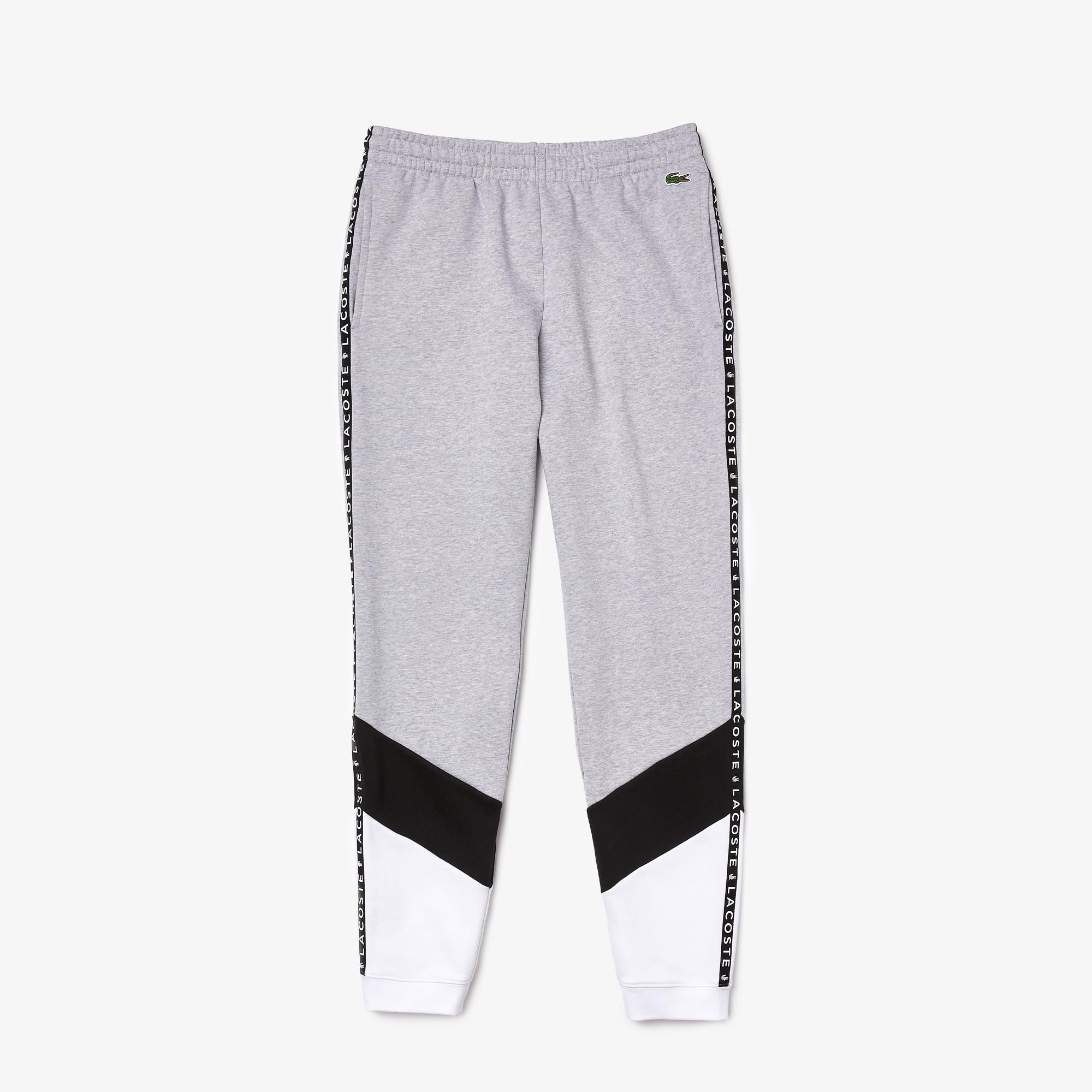 Lacoste Sweatpants, Grey Chine/Black/White, M