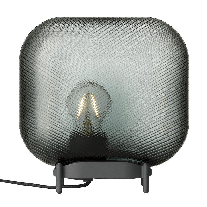 Iittala Virva Bordlampe, Mørke grå, 25x25,5cm
