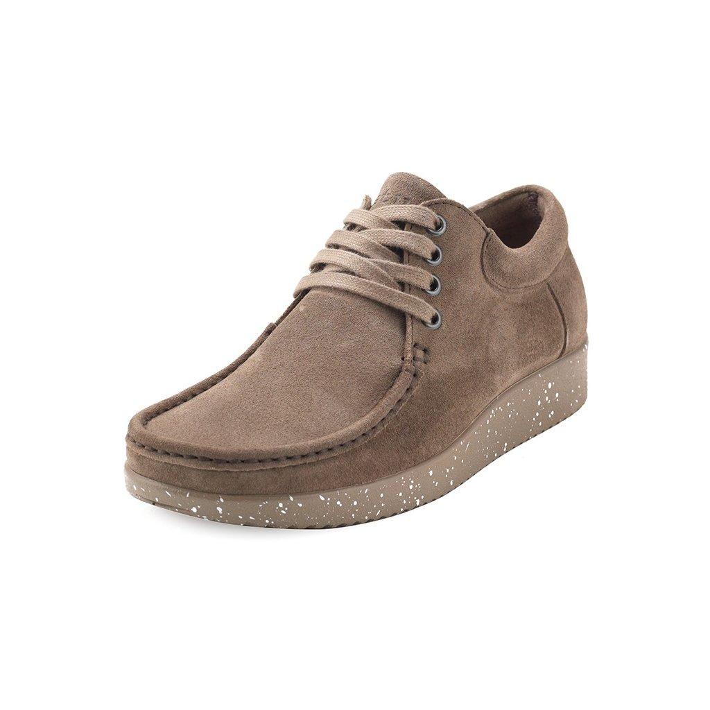 Nature Anna Suede sko, warm grey, 37