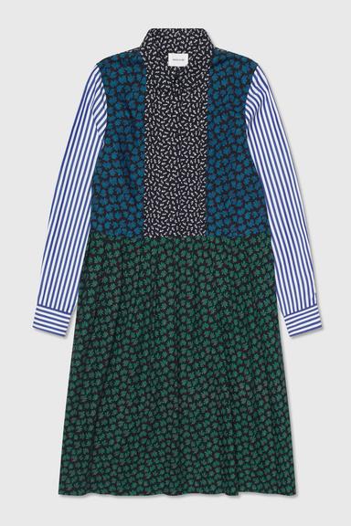 Wood Wood Grace block print kjole