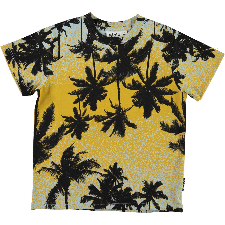 Molo Rame SS t-shirt, Sunrise palms, 110