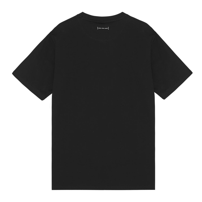 ISNURH Falling Man t-shirt, black, large