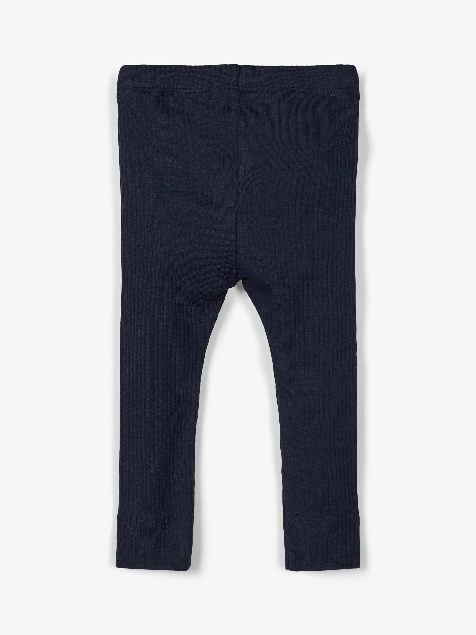 Name It Bille rib leggings, dark sapphire, 68