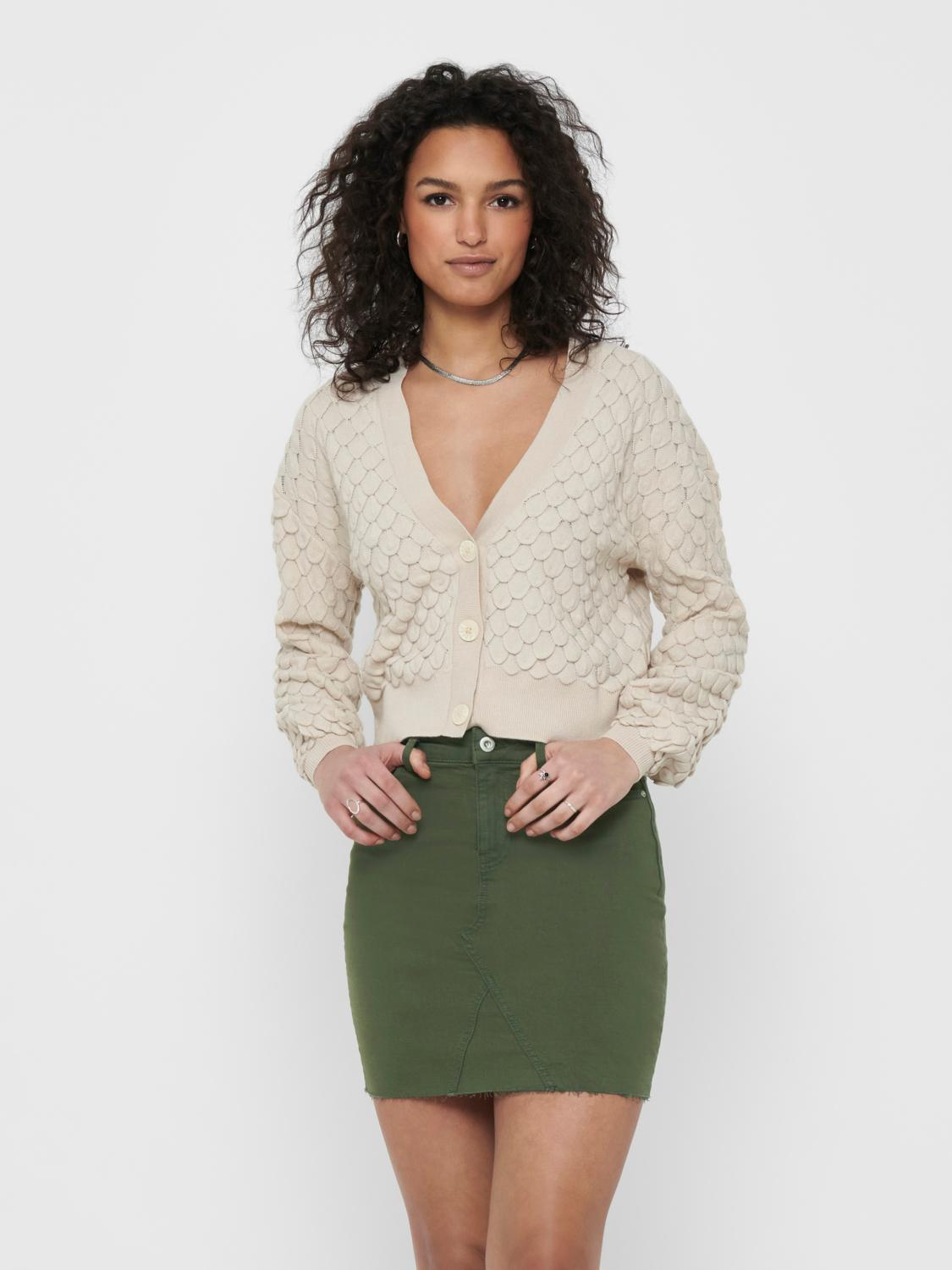 Only Gillie cardigan, pumice stone, small