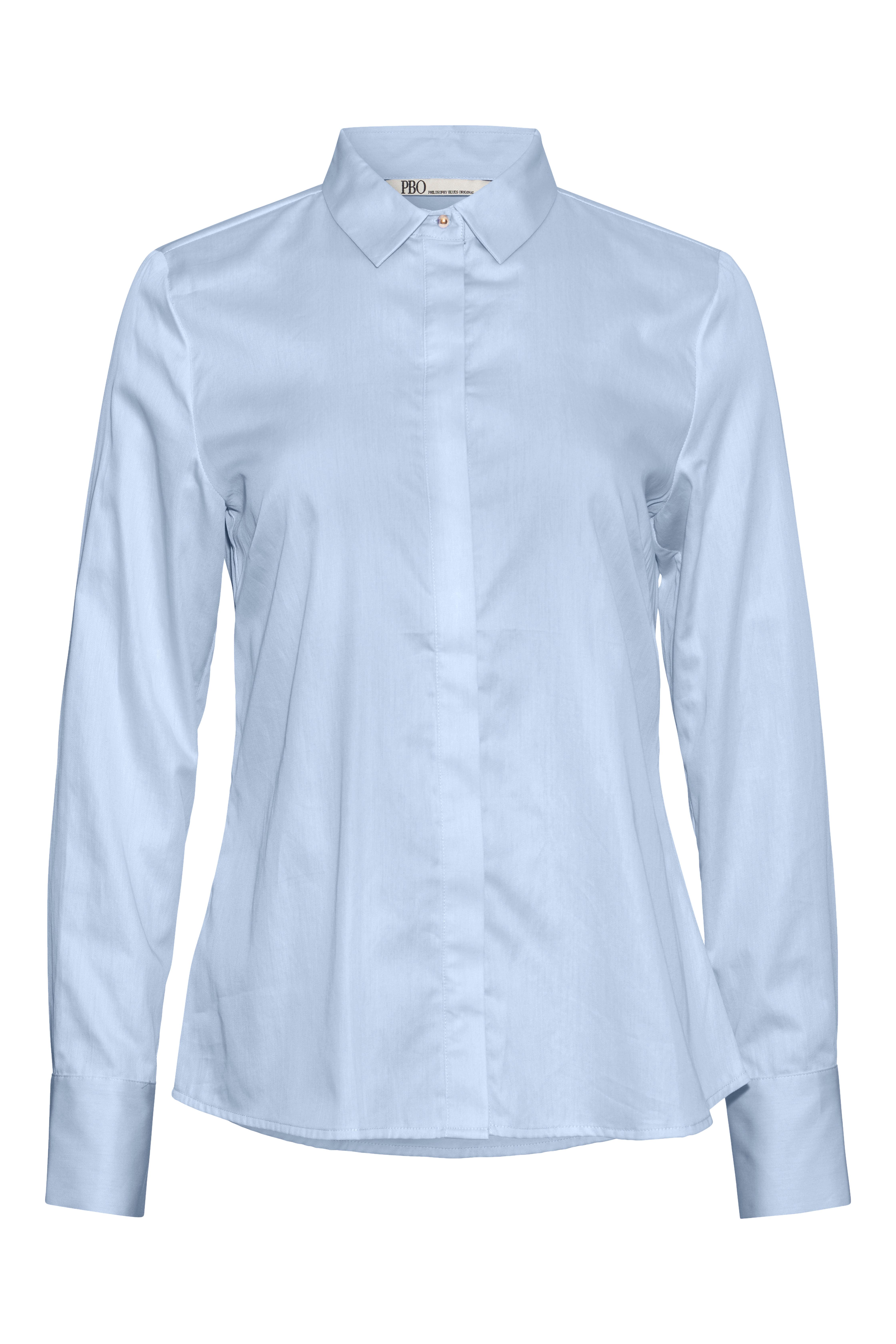 PBO Meghan Skjorte, Blå, 38