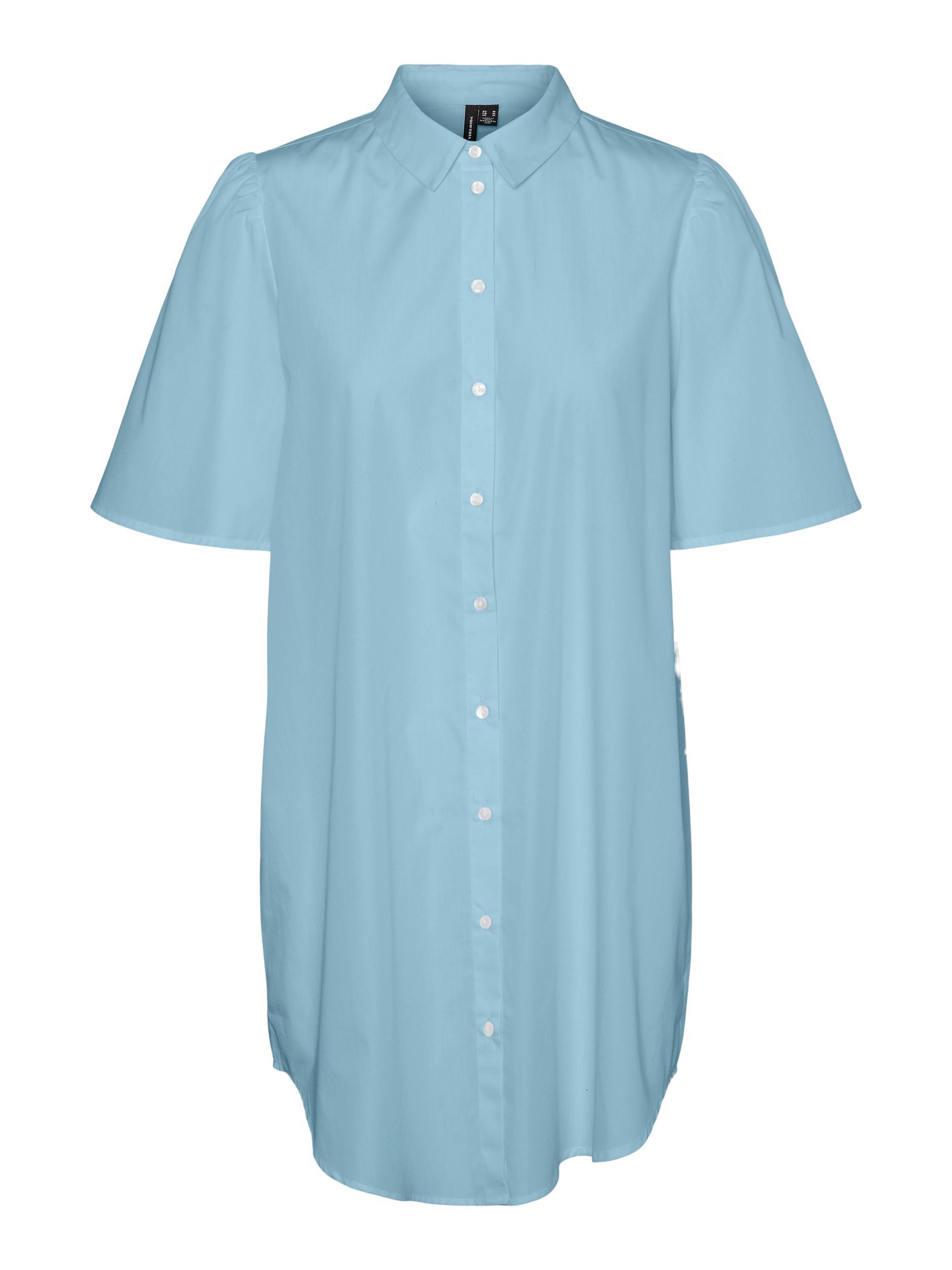 Vero Moda Hella skjorte, aqua, large